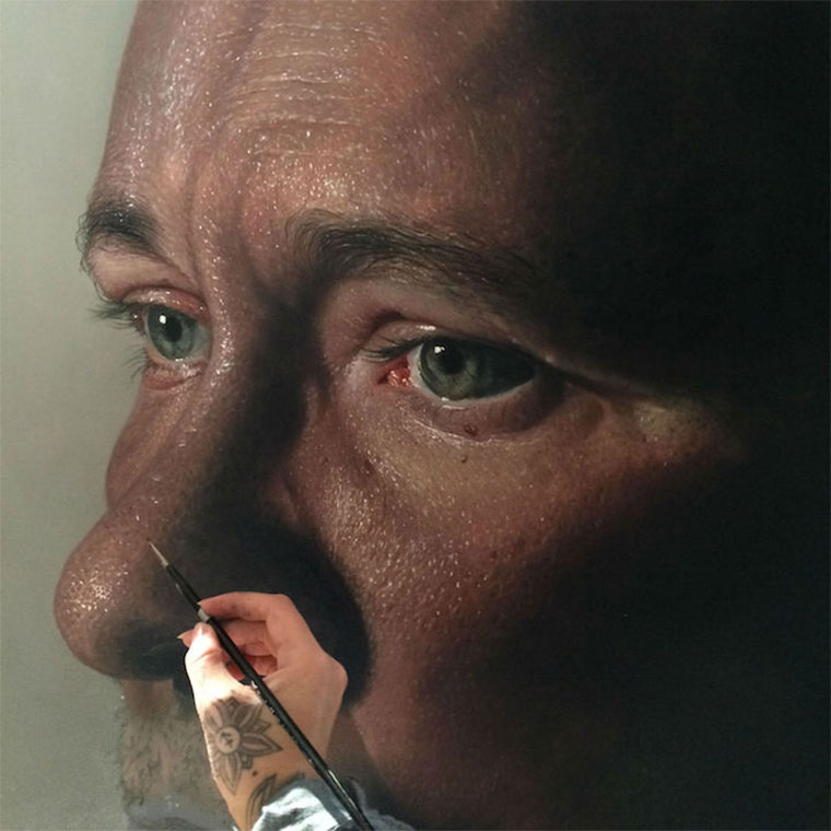 Hyperrealistische Malerei: OdaKing odaking_07