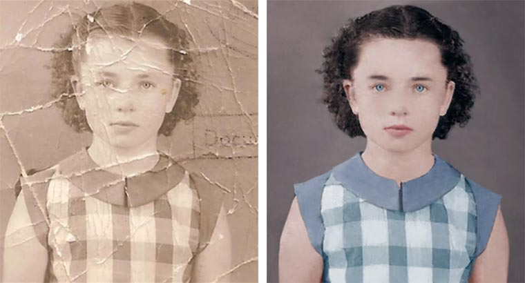 Timelapse: Foto-Restauration und -Colorierung photo-restauration