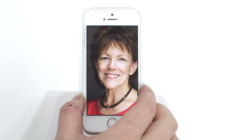 Die Stimme von Siri erklärt Voiceovers