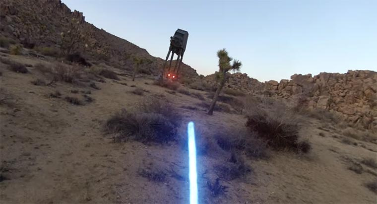 Jedi with a GoPro star-wars-gopro1