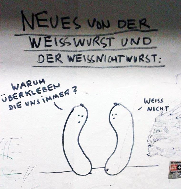 Die Weißwurst & die Nichtweißwurst