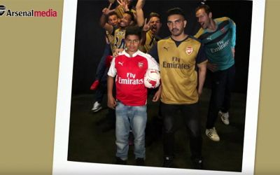 Arsenal-Photobomb