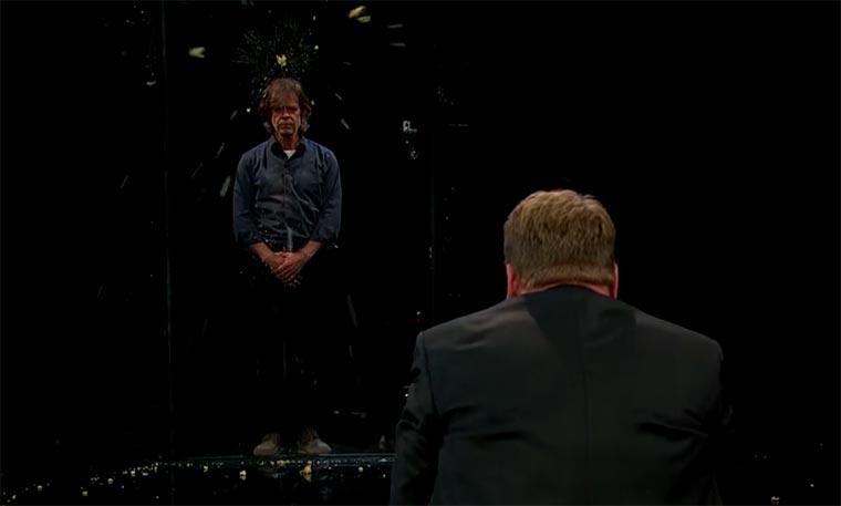 Schauspieler versuchen, nicht zu blinzeln Flinch
