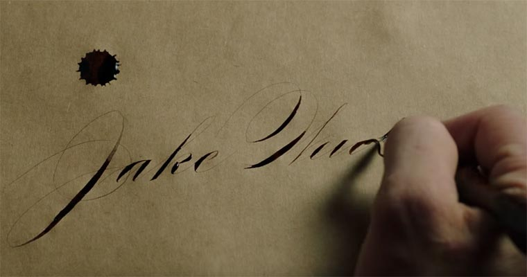 Die schönste Handschrift der Welt? Jake-Weidmann