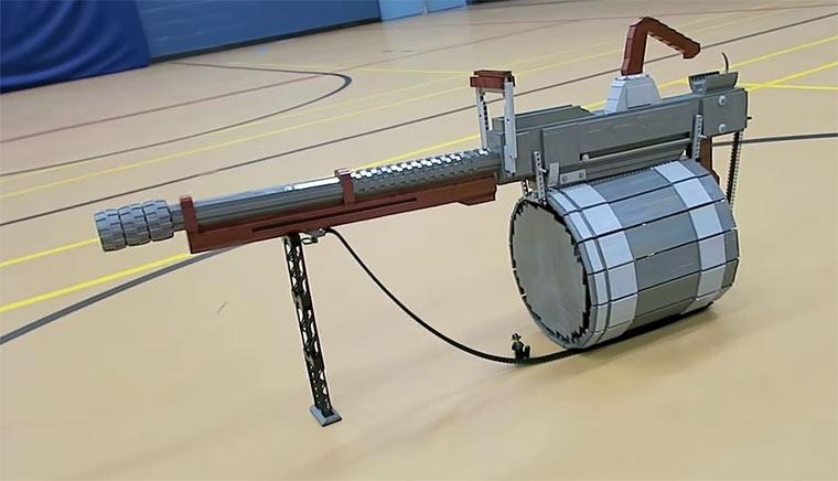 Team Fortress 2-Waffe aus LEGO