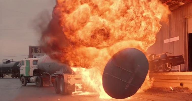 Schwarzenegger Explosion Supercut