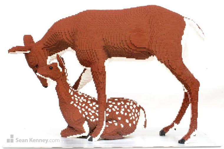 Tierskulpturen aus LEGO Sean-Kenney_05