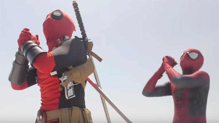 Dance Off: Spider-Man vs. Deadpool