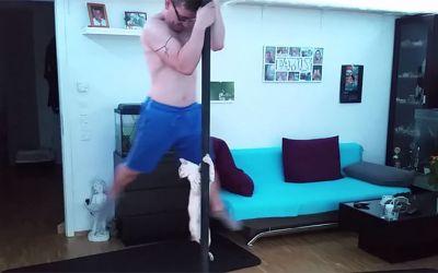 cat-pole-dance