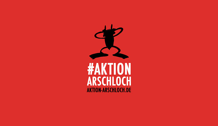 #AktionArschloch