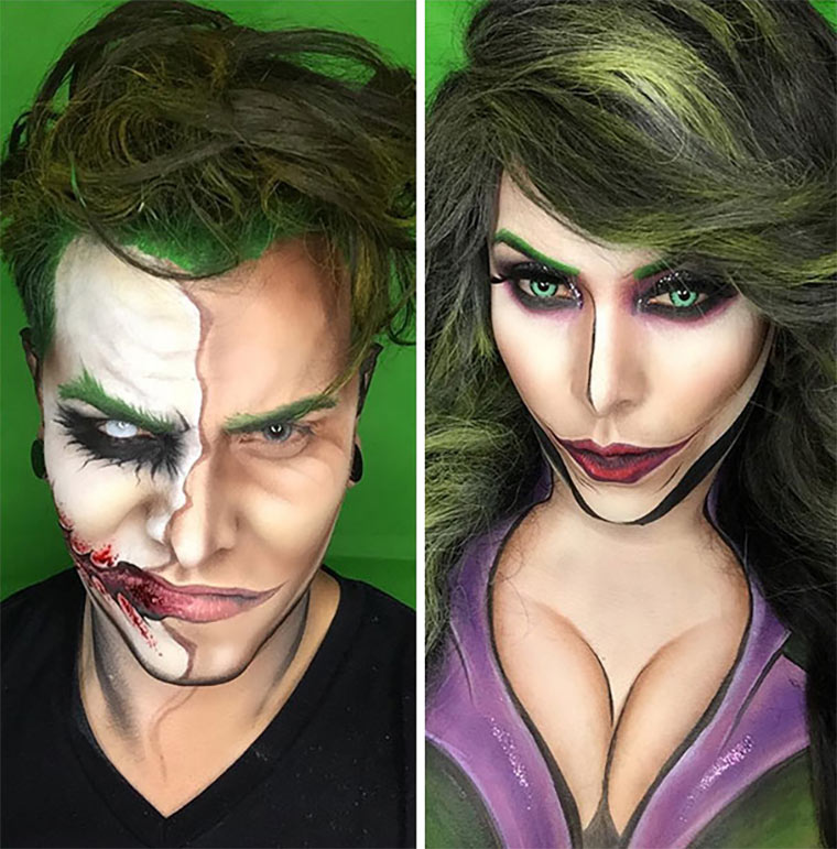 Comic-Verwandlungen durch Make-Up Argenis-Pinal_04