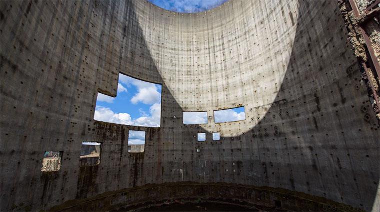 Die Schönheit eines verlassenen Atomkraftwerks