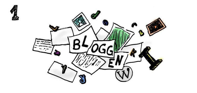 Was Blogger den ganzen Tag machen