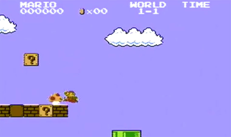 Evolution-of-Super-Mario