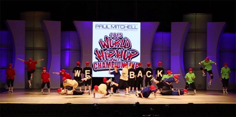 HipHop Dance International World Finals 2015