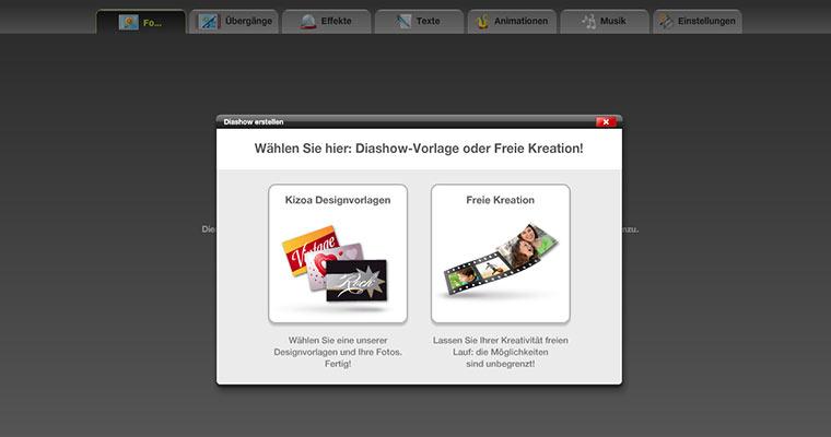 Spielerisch Dia-Shows kostenlos online erstellen Kizoa_02