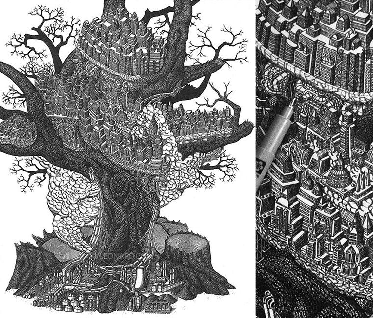 Illustration aus Millionen Punkten Kyle-Leonard_08