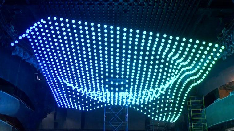 Fliegender Lichter-Teppich Orbis-Fly
