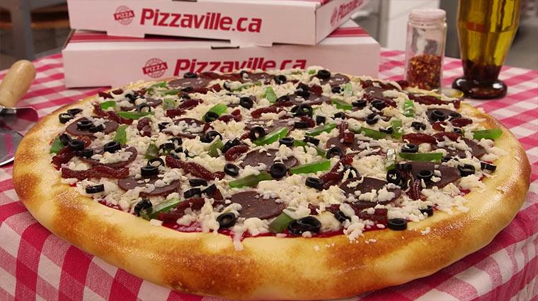 So macht ihr einen Pizza-Kuchen Pizza-cake