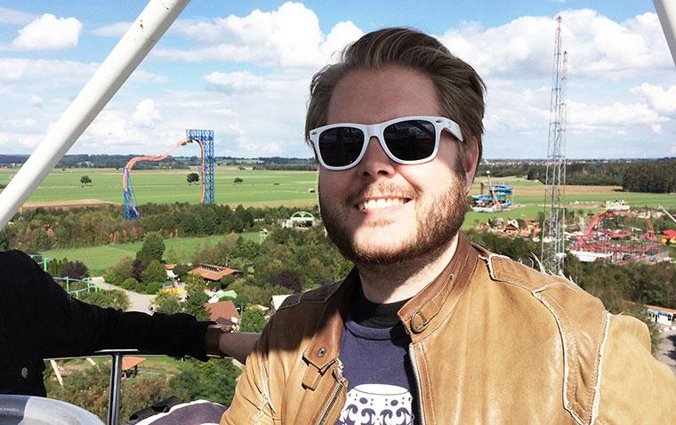 Ich war im Skyline Vergnügungspark