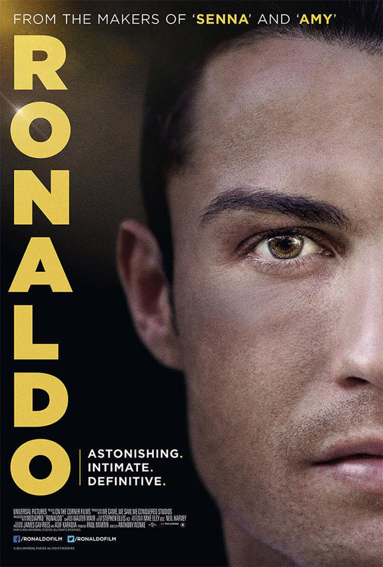 Ronaldo: Trailer zur Cristiano-Doku Ronaldo-Poster