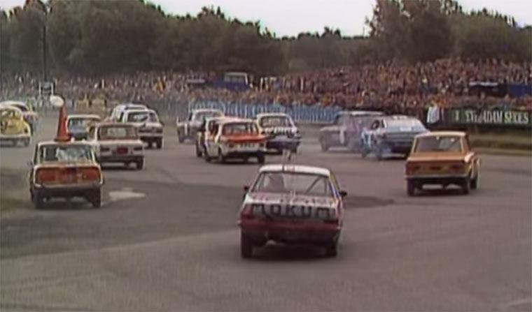 In Holland fahren sie rückwärts Rennen backwards-racing
