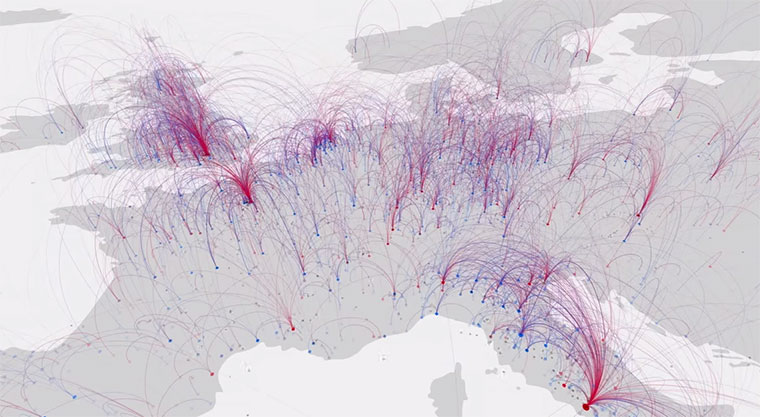 migration-visualisation