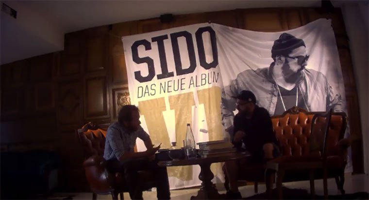 Haftbefehl legt Sido rein sido-interview-Streich