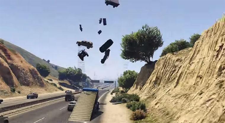 GTA V Rampen-Truck-Mod