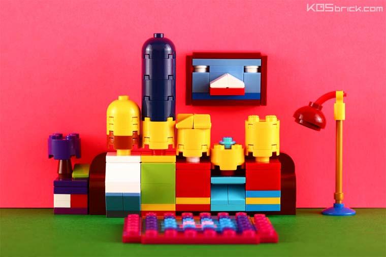 Mini-LEGO-Kunst von KOS brick KOS-brick_01