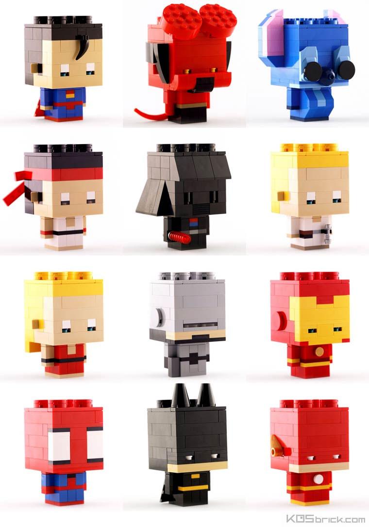 Mini-LEGO-Kunst von KOS brick KOS-brick_03