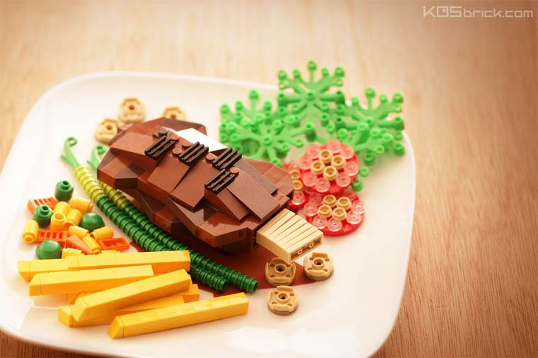 Mini-LEGO-Kunst von KOS brick KOS-brick_15
