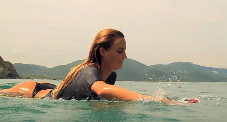 Surfing: Mariposa Mariposa
