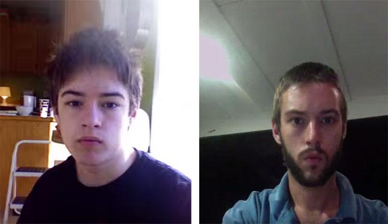 Von 12 bis 20 Jahre in 2 Minuten Selfie-8-years-timelapse