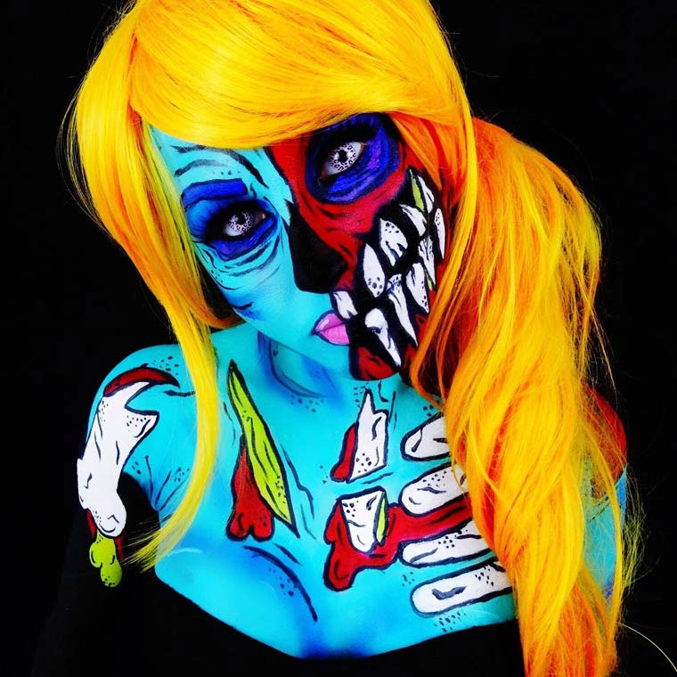 Monsterliche Bodypaintings TwistinBangs_03