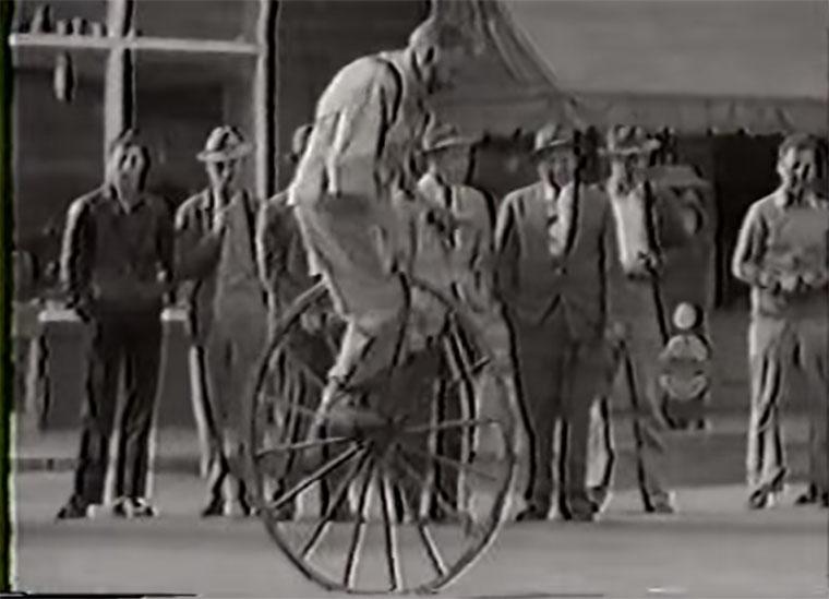 1950-unicycle-tricks