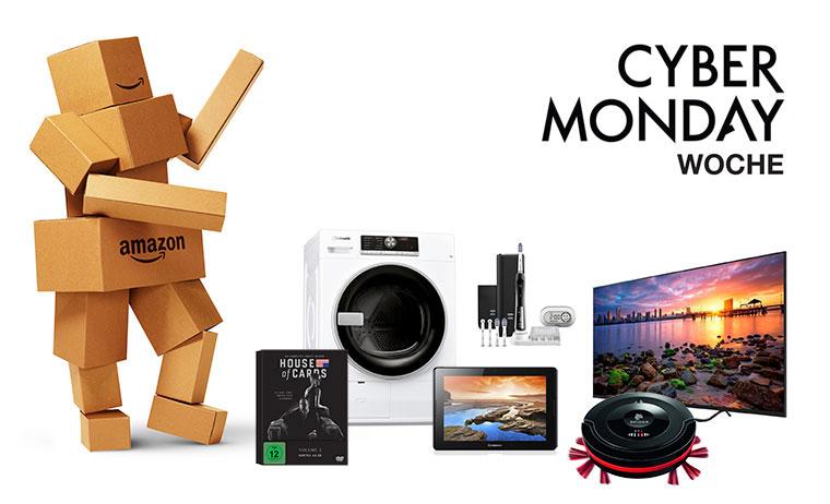 Sparen deluxe: Amazon Cyber Monday Woche