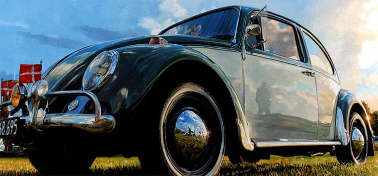 Realistische Oldtimer-Gemälde Andreas-Maul_04