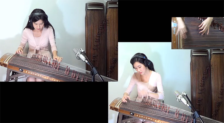 Radioheads Creep auf der Wölbbrettzither Creep-Gayageum-Cover