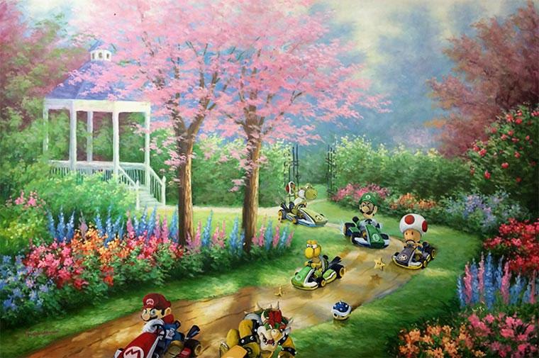 Popkultur in klassischen Gemälden Dave-Pollot_01