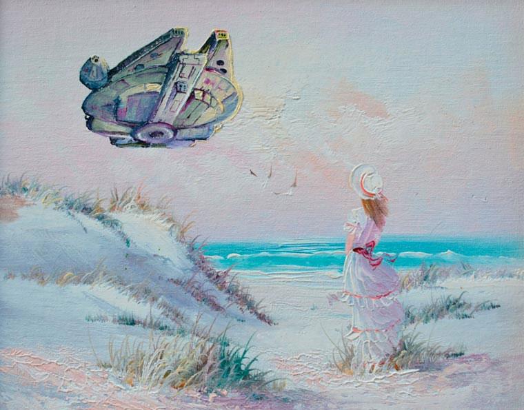 Popkultur in klassischen Gemälden Dave-Pollot_03
