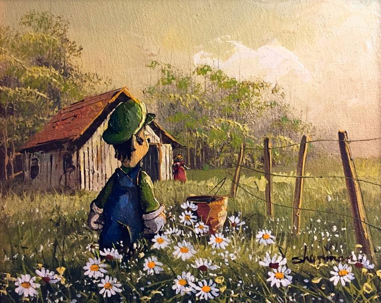 Popkultur in klassischen Gemälden Dave-Pollot_05