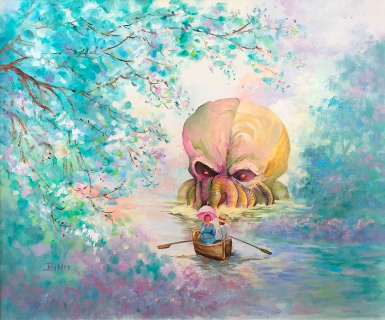 Popkultur in klassischen Gemälden Dave-Pollot_06