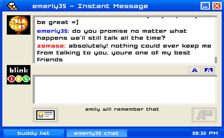 Friendzone-Instant Messaging-Simulator Emily-Is-Away_01
