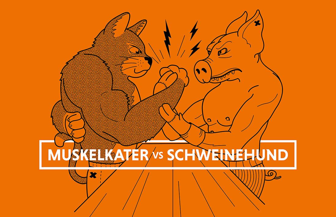 Muskelkater vs. Schweinehund - wer gewinnt? FitX_Muskalkater-vs-Schweinehund_01