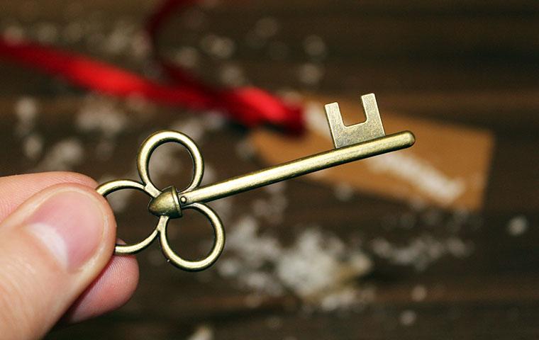 Per Post kam ein #GoldenerSchlüssel zu mir…