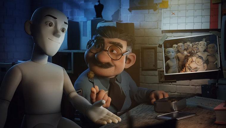 Ein Nachtwächter und seine Schaufenster-Puppen-Freunde Justino