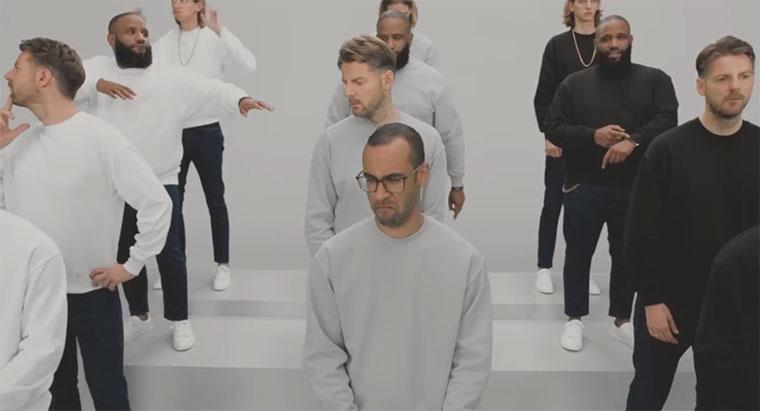 Drei Musikvideos in einem Lernert-und-sander-3-in-1-musicvideo