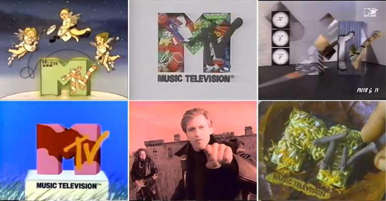 1 Stunde MTV-Werbetrenner MTV-Idents