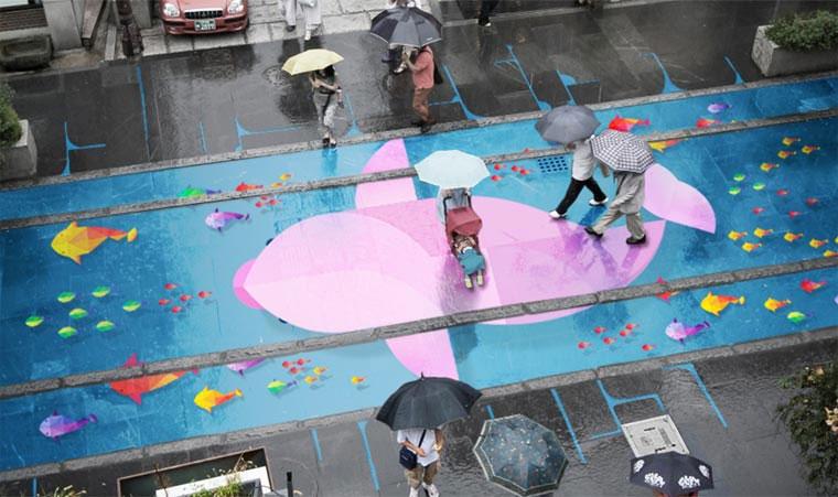 Straßenkunst kommt bei Regen zum Vorschein Project-Monsoon_01